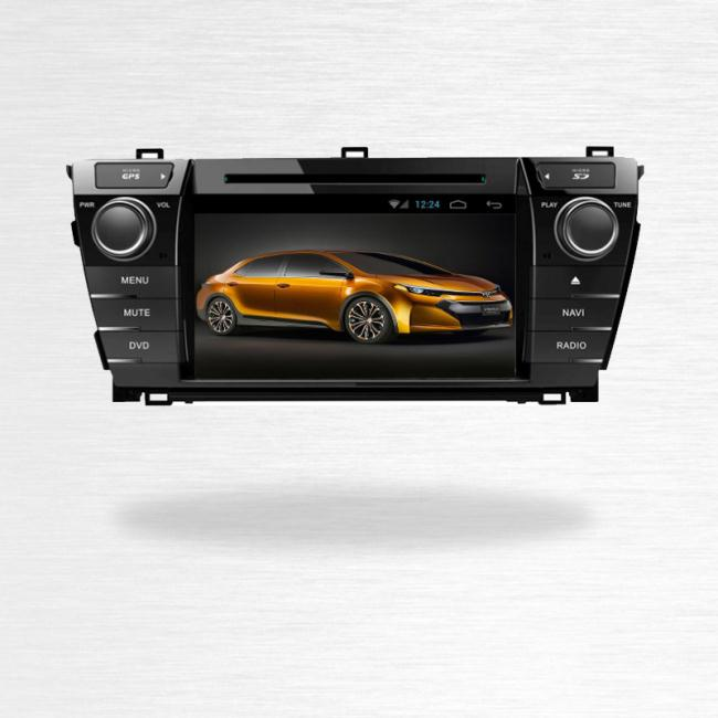 Android Car Audio For New Toyota Corolla