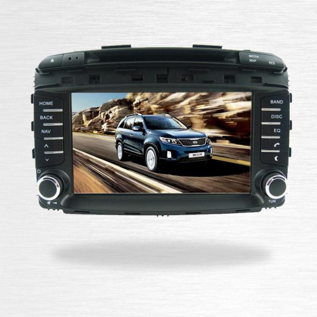New Kia Sorento Car Multimedia