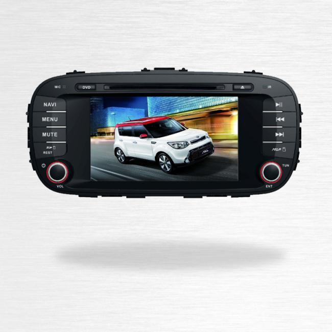 KIA Soul Car Dvd GPS Navigation