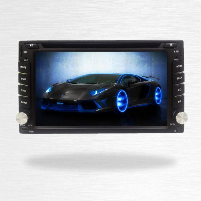Touch Screen 6.2 Inch Car Dvd Player