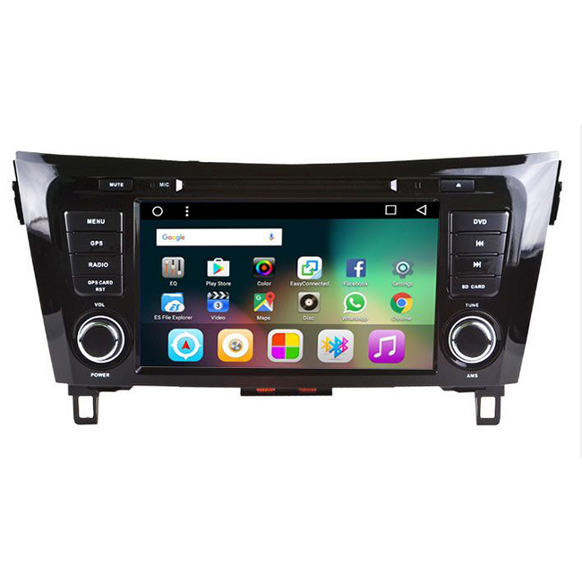 Nissan Qashqai car dvd player