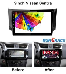 10.1inch Decklesh Android9.0 Car Infotainment System for Nissan Sentra RL-316 (without 3G)