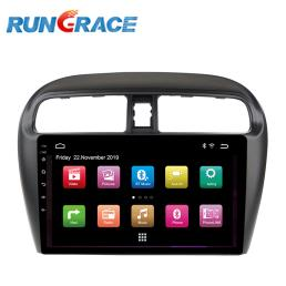 Rungrace 9 Inch Android Car DVD Player GPS Navi System For Mirage 2010