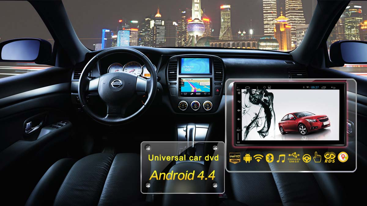 Voiture universelle dvd